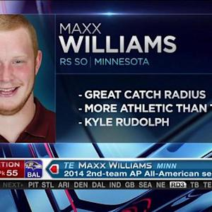 Baltimore Ravens pick tight end Maxx Williams No. 55 in 2015 NFL Draft