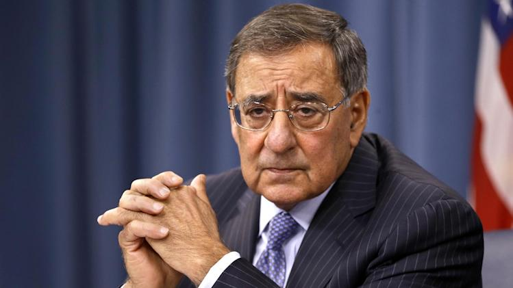 Defense Secretary Leon Panetta listens during a news conference at the Pentagon, Thursday, Sept. 27, 2012. (AP Photo/Jacquelyn Martin)