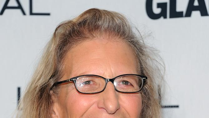 """""""The Visionary"""" award winner, photographer Annie Liebovitz, attends Glamour Magazine's 22nd annual """"Women of the Year Awards"""" at Carnegie Hall on Monday Nov. 12, 2012 in New York. (Photo by Evan Agostini/Invision/AP)"""