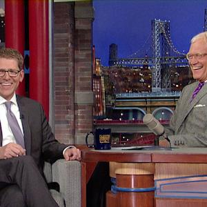 Jay Carney, Part 2 - David Letterman
