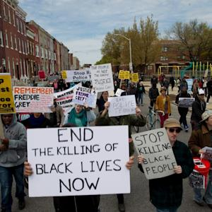 Thousands Protest Freddie Gray's Death In Baltimore