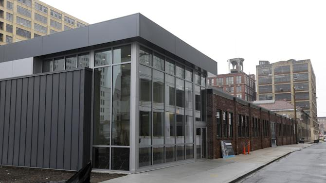 This Wednesday, Feb. 27, 2013 photo shows the Pennsylvania Ballet's new facility in Philadelphia. The company is celebrating its 50th birthday with a new facility and a season of performing brand new works and classic pieces. (AP Photo/Matt Rourke)