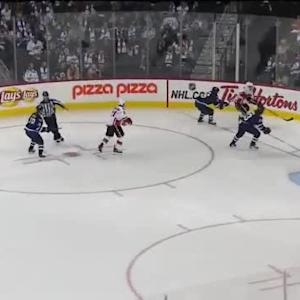 Flames at Jets / Game Highlights
