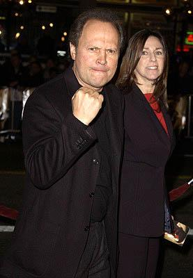 Premiere: Billy Crystal and wife at the Hollywood premiere of Ali - 12/12/2001