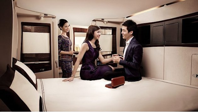 World's most luxurious first class cabins