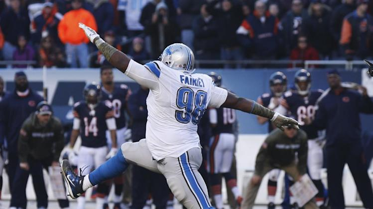 Suh, Fairley stout for Detroit on defensive line