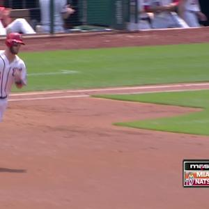 Harper's three-homer game