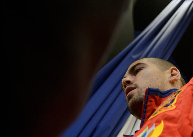 Spanish Goalkeeper Victor Valdes Leaves  AFP/Getty Images