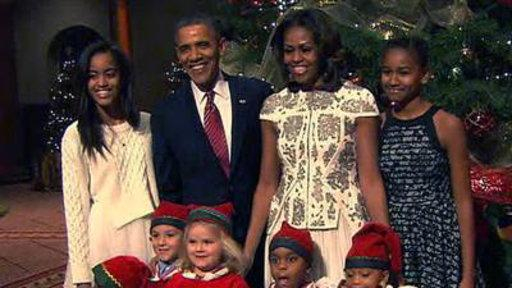 Obamas Attend 'Christmas in Washington' Concert