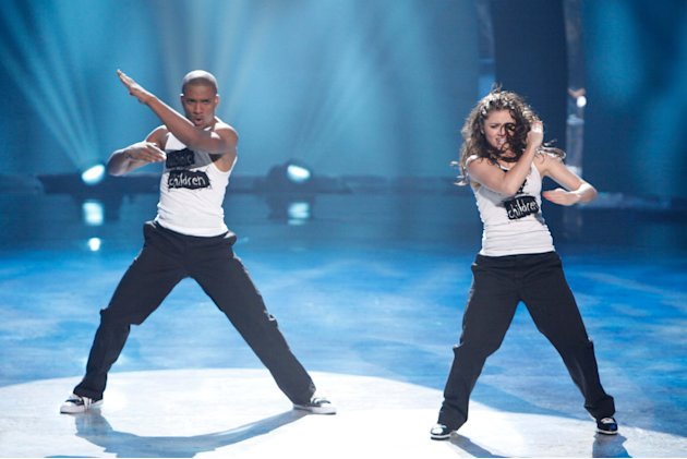 "Mitchell Kelly and Caitlynn Lawson perform a Hip-Hop routine to ""Break The Chain,"" choreographed by Christopher Scott on ""So You Think You Can Dance."""