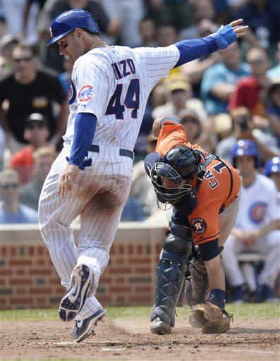 Sweeney has 6 RBIs in Cubs' 14-6 win over Astros