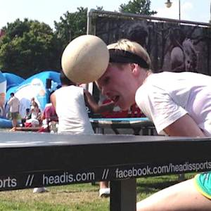 Headis: A Heady Mix of Soccer and Table Tennis