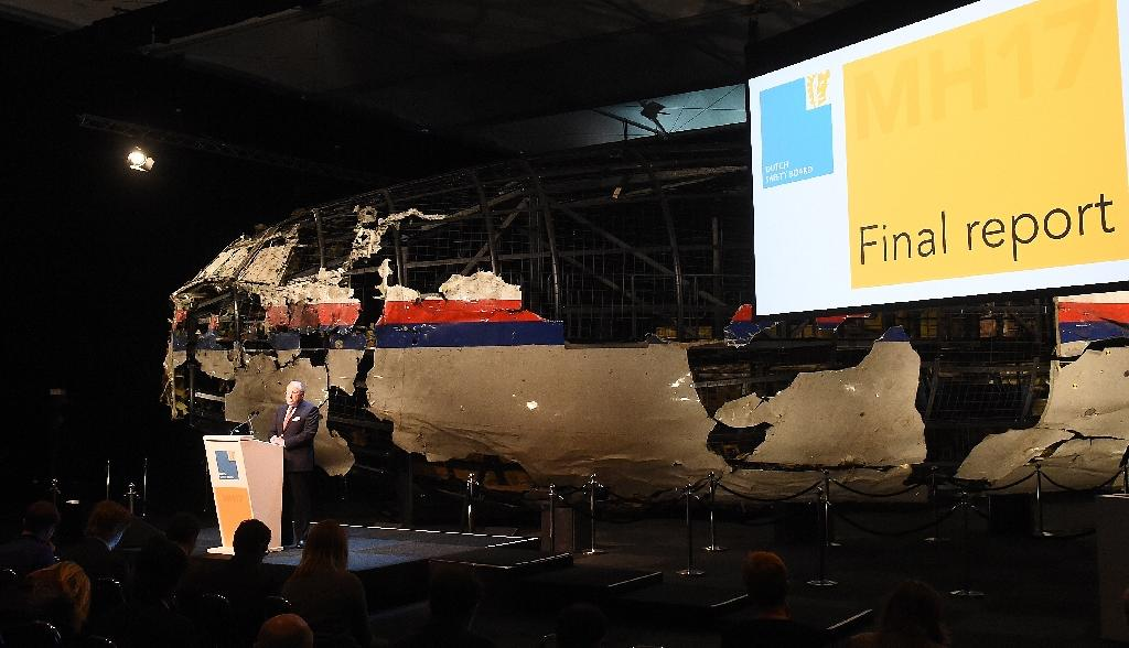 Main findings in the MH17 air disaster