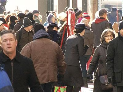 Sidewalk Scrooges to NYC Tourists: Move It!