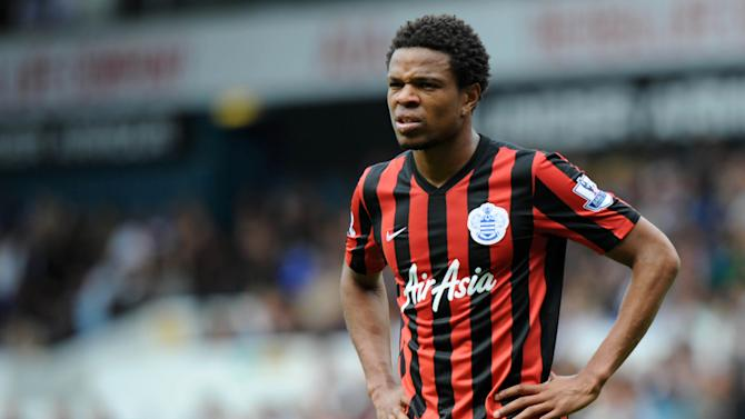 Queens Park Rangers' French striker Loic Remy pictured during his side's English Premier League match against Tottenham at White Hart Lane in north London on August 24, 2014