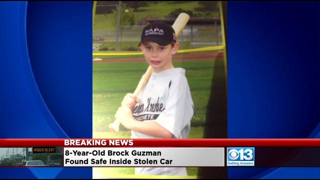 California police find boy, 8, after parents' car stolen
