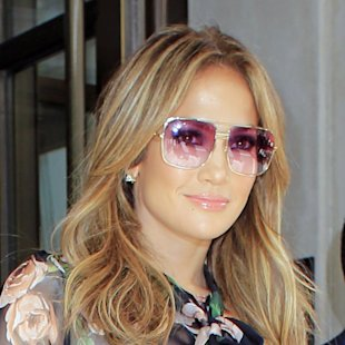 Jennifer Lopez in fiore a  New  York