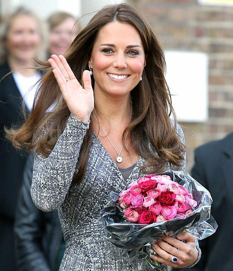 Kate Middleton Hints She's Having a Baby Girl!