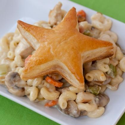 Mac and Cheese Chicken Pot Pie