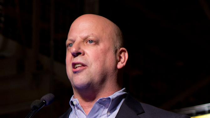 FILE - This Nov. 21, 2011 file photo shows Rep. Scott DesJarlais, R-Tenn., speaks in Spring Hill, Tenn. DesJarlais, a freshman congressman running for re-election on a pro-life platform urged his pregnant mistress to get an abortion a decade ago, according to a transcript of the recorded conversation.  (AP Photo/Erik Schelzig, File)