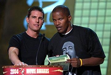 Tom Cruise and Jamie Foxx MTV Movie Awards - 6/5/2004
