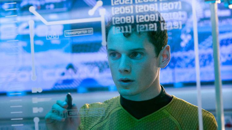 Star Trek Production Stills 2009 Paramount Pictures Anton Yelchin