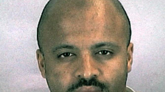 File photo of Zacarias Moussaoui, an inmate at a Colorado prison