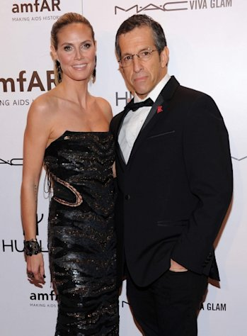 Designer Kenneth Cole and Heidi Klum -- Getty Images