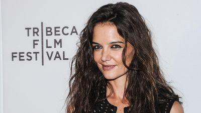 How Did Katie Holmes Find Herself on an Empty Penn Station Platform in a Ballgown?