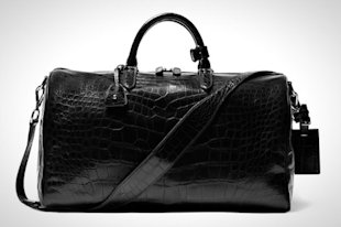 Ralph Lauren Alligator Weekend Bag