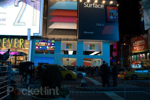 Microsoft's Times Square store in pictures, we take a walk around. Microsoft, Microsoft Surface, Windows 8, Windows 8 RT 0