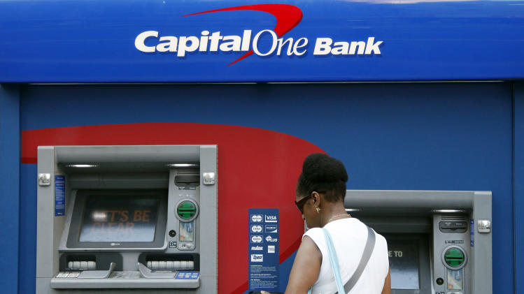 Capital One posts lower 3Q net income, revenue