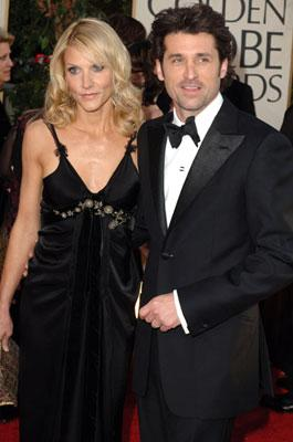 Jill Fink and Patrick Dempsey 63rd Annual Golden Globe Awards - Arrivals Beverly Hills, CA - 1/16/05