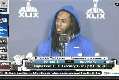 Richard Sherman says NFL won't punish Pats because Goodell and Kraft are friends