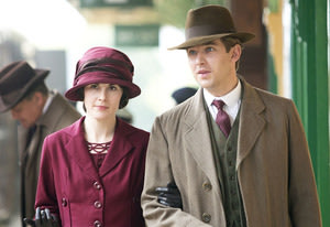 Michelle Dockery and Dan Stevens …