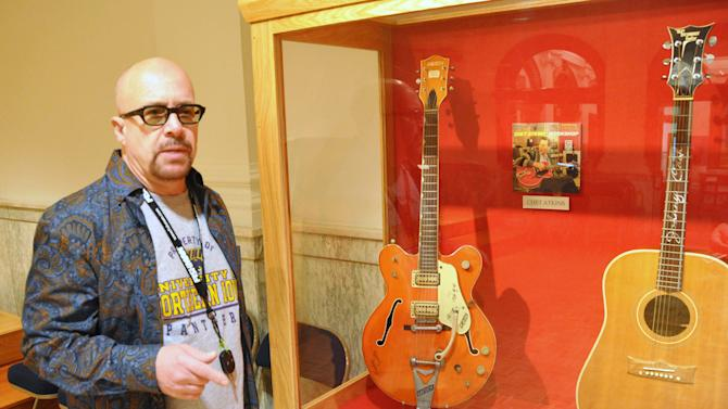 SD museum adds Elvis' guitar to vast collection