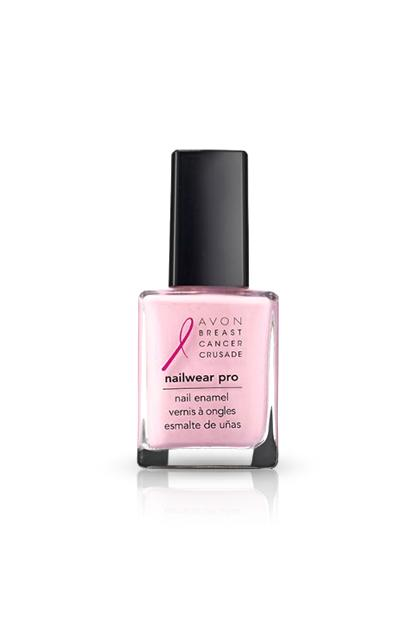 AVON NAILWEAR PRO NAIL ENAMEL IN PINK POWER, $3