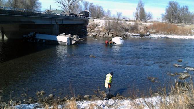Chemical spill into Mont. river spurs water watch