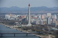 A general view of Pyongyang in April 2012. Pyongyang&#39;s dependence on Beijing has grown as international sanctions over its missile and nuclear programmes have restricted access to international credit and trade