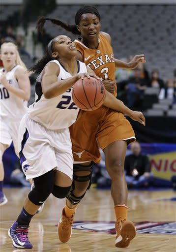 Kansas State women edge Texas 51-49