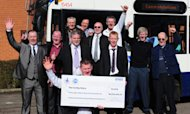 Bus Drivers' Joy At Euromillions Jackpot