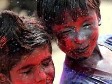 Colors and Smiles for India's Holi Festival