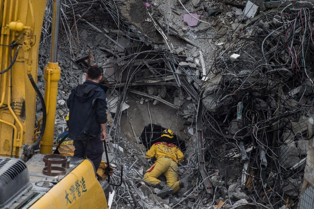 Taiwan developer grilled over collapse of quake building
