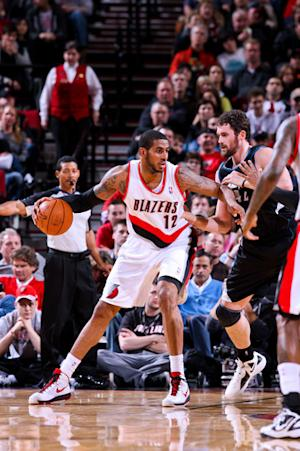 Aldridge leads Blazers to 119-106 win over Wolves