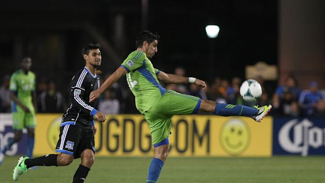 MLS: Seattle Sounders at San Jose Earthquakes