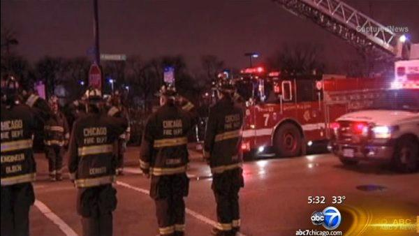 Chicago firefighter who died Sunday identified as Walter Patmon Junior