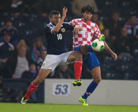 Soccer - FIFA 2014 World Cup - Qualifying - Group A - Scotland v Croatia - Hampden Park