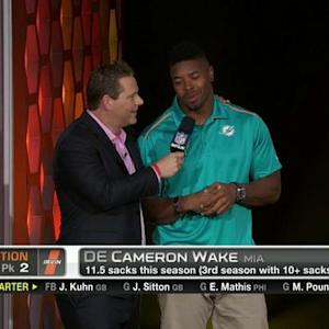 Pro Bowl Draft: Miami Dolphins defensive end Cameron Wake goes No. 10