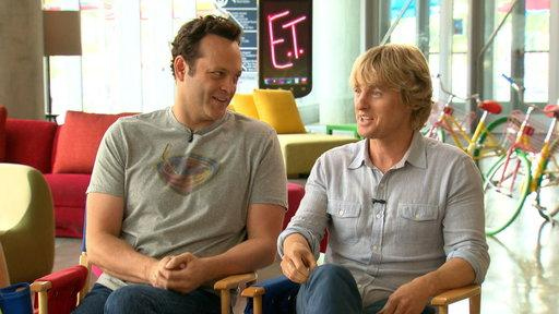 Vaughn, Wilson On Reuniting After 'Crashers'