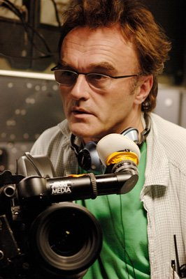 Director Danny Boyle on the set of Fox Searchlight's Sunshine